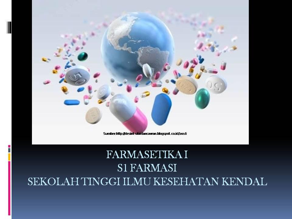 Farmasetika (STIKES Kendal)