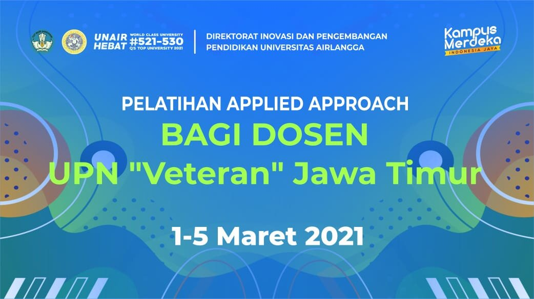 "Applied Approach UPN ""Veteran"" Jawa Timur"