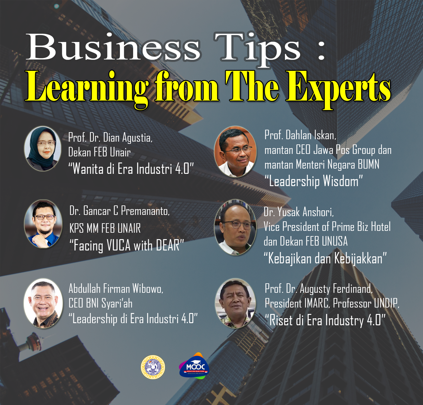 Learning From The Experts