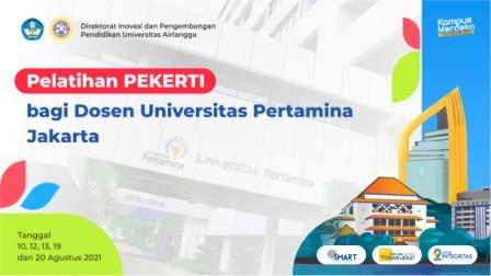 PEKERTI  Universitas PERTAMINA 2021