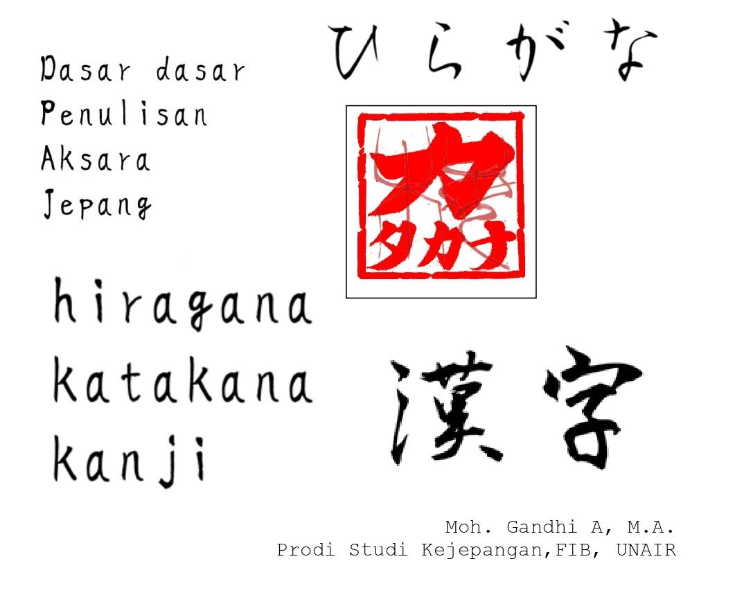 Dasar-Dasar Penulisan Aksara Jepang (Hiragana, Katakana, dan Kanji)