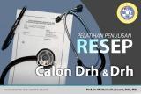 Pelatihan Penulisan Resep Untuk Calon Dokter Hewan dan Dokter Hewan